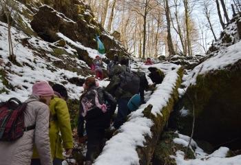 21 января. Водопады Кызыл-Бек
